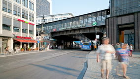 Friedrichstrasse Berlin, Germany stock video