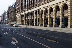 The Friedrichstrasse Royalty Free Stock Images