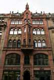 Friedrichstrasse. Facade of an old trading house Stock Photo