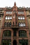 Friedrichstrasse. Facciata di vecchia casa di commercio fotografia stock