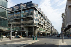 Friedrichstrasse - is one of the most famous streets Stock Images