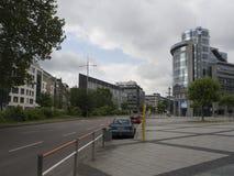 Friedrichstrasse Stuttgart Arkivfoton