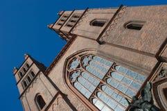Friedrichswerdersche Kirche, Berlin Image stock