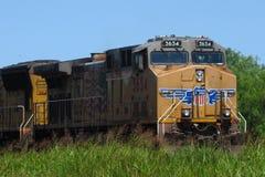 Frieght train stock photo