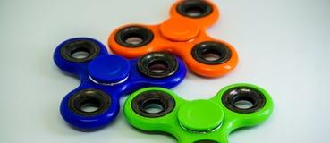 Friemel de spanning van de vingerspinner, het stuk speelgoed van de bezorgdheidshulp Royalty-vrije Stock Fotografie