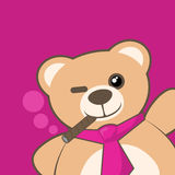 Friend bear Royalty Free Stock Images