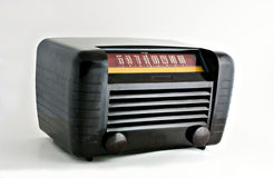Friend from the Fifties. Antique radio from the 1950's Stock Photography