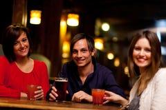 Friend in a pub Stock Image