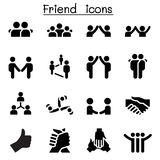 Friend & relationship icons. Friend & relationship icons vector illustration Stock Photo