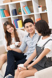 Friend's gossip Royalty Free Stock Photo