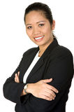 Friendly asian business woman Royalty Free Stock Photo
