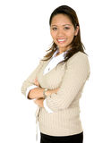 Friendly asian business woman Royalty Free Stock Photography