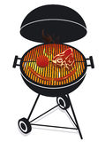 Friendly barbecue Royalty Free Stock Image