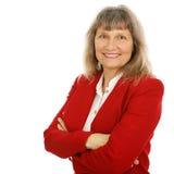 friendly bizneswomanu pośrednik Obraz Royalty Free