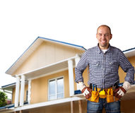 Friendly builder Stock Photography