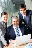 Friendly business group Royalty Free Stock Photos