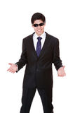 Friendly business man Royalty Free Stock Photography