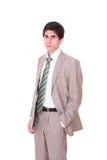 Friendly business man Stock Photos