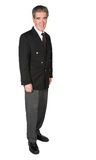 Friendly business man - full body Stock Photography
