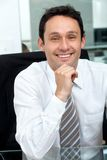 Friendly business man portrait Royalty Free Stock Images
