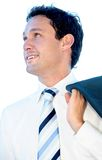 Friendly business man portrait Stock Photo