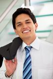 Friendly business man portrait Royalty Free Stock Image
