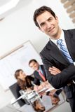 Friendly business man portrait Royalty Free Stock Photo