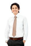 Friendly business man portrait Royalty Free Stock Photography