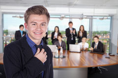 Friendly Business People imagine Royalty Free Stock Photography