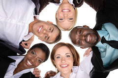 Friendly business team Royalty Free Stock Image