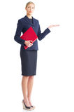 Friendly business woman Stock Images