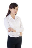 Friendly business woman Royalty Free Stock Photo