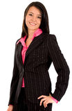 Friendly business woman Royalty Free Stock Photos