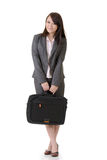 Friendly business woman Royalty Free Stock Image