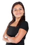 Friendly business woman portrait Royalty Free Stock Photography