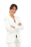 Friendly business woman portrait Stock Photography