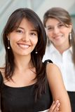 Friendly business women portrait Stock Images