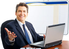 Friendly businessman Royalty Free Stock Images