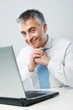 Friendly businessman Stock Image