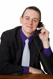 Friendly businessman Royalty Free Stock Photo
