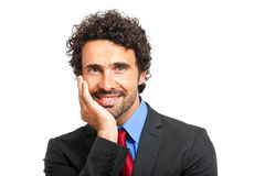 Friendly businessman portrait Royalty Free Stock Photography