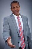 Friendly businessman Royalty Free Stock Image