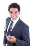Friendly businessman Royalty Free Stock Photos