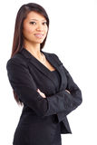 Friendly businesswoman Stock Photos