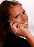 Friendly Businesswoman. Your friendly front office girl at your clients' service Stock Images
