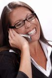 Friendly Businesswoman Stock Photography