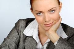 Friendly businesswoman Royalty Free Stock Photo