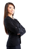 Friendly businesswoman Royalty Free Stock Images