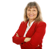 Friendly Businesswoman or Realtor Royalty Free Stock Image
