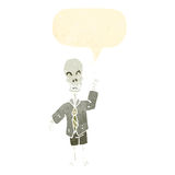 Friendly cartoon skeleton Royalty Free Stock Photos